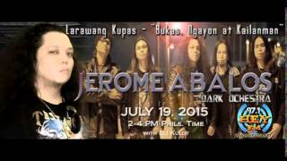Jerome Abalos - FULL Interview on 97.1HeY!FM
