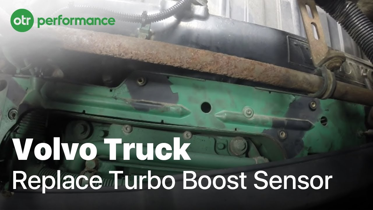 Volvo Truck Turbo Boost Sensor | Volvo D12 | OTR Performance