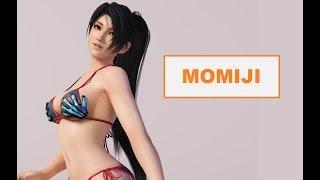 Les combattants de Dead or Alive 5 Last Round : MOMIJI