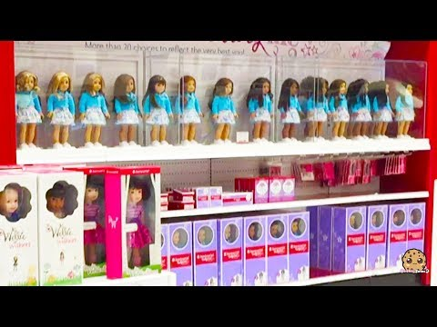 Back To School + American Girl + Toy Hunt Shopping Video - Cookie Swirl C Vlog