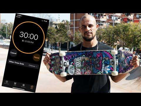 30 MINUTES WITH BLAKE JOHNSON IN BARCELONA | Santa Cruz Skateboards