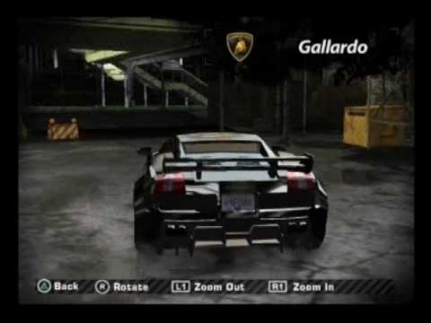 My Cars On Need For Speed Most Wanted Ps2 Youtube