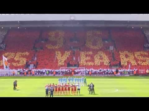 Justice for the 96 - Liverpool vs Manchester City - 04/13/2014