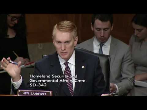 Senator Lankford Questions Nominees for DHS and TSA at Homeland Security Hearing