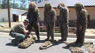 Sniper School at Fort Benning: Ghillie Suit