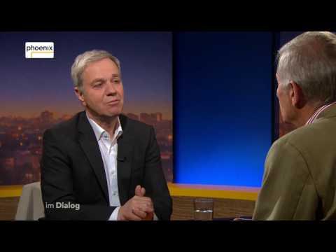Im Dialog: Michael Hirz im Gespräch mit Ulrich Wickert am 05.05.2017