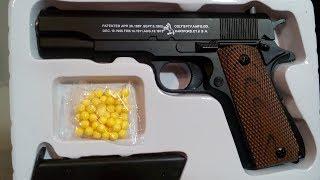 C.8. Пистолет пневматический из металла . Обзор игрушек.