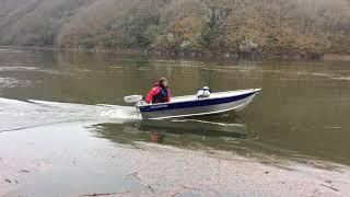 Essai moteur hors bord électrique Aquamot 2