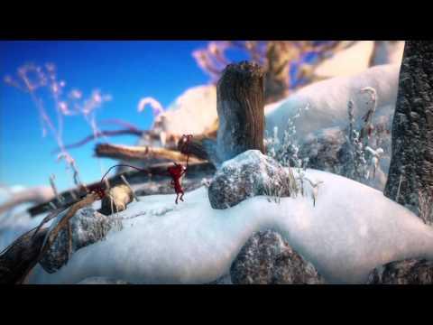 Unravel playthrough pt11 - Winter Wonderland! Fishing Hole Fun