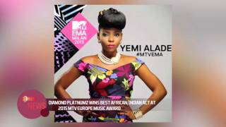 DIAMOND PLATNUMZ WINS BEST AFRICAN/INDIAN ACT AT 2015 MTV EUROPE MUSIC AWARD -EL NOW News