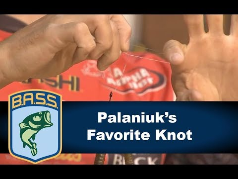 Brandon Palaniuk's favorite knot: The Palomar