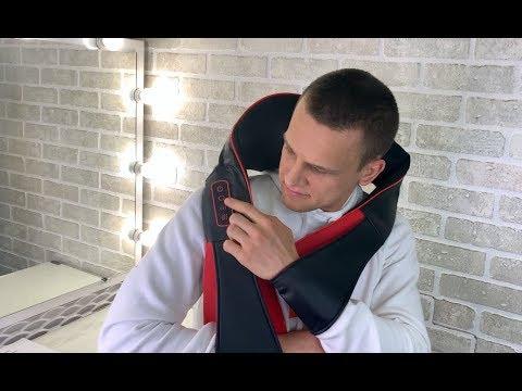 Беспроводной роликовый массажер для тела C ИК-прогревом Soft Roller FITSTUDIO