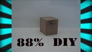 Копилка из картона своими руками |  Piggy bank made of cardboard do it yourself