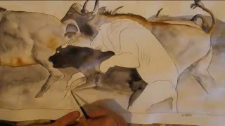 Gambar cover Water Color Lion Attack