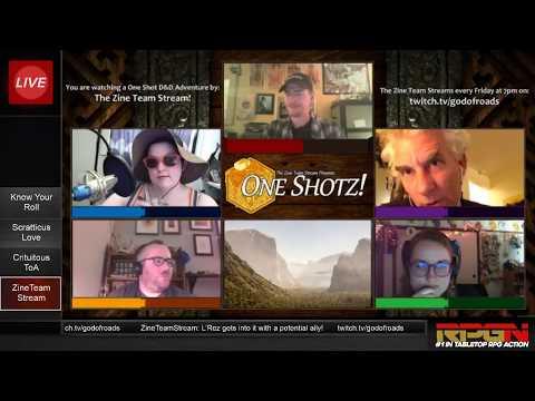 RPGN Episode 2: Web DM Tabletop Live Stream Highlight Comedy Show