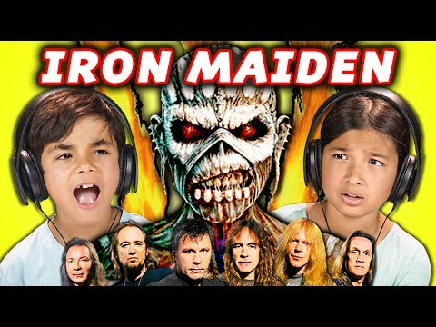 Generate KIDS REACT TO IRON MAIDEN (Metal Music) Images