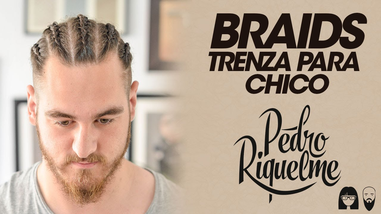 Peinado De Trenzas Para Chico Youtube