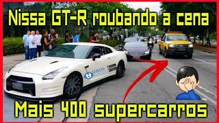 Nissan GT-R, Lamborghini, Ferrari, McLaren e muito mais ACELERANDO no maior evento do Brasil