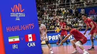 IRAN vs. CANADA - Highlights Men | Week 3 | Volleyball Nations League 2019