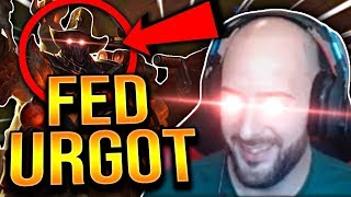 WTF! HOW DID THEY LET ME GET THIS FED?!? URGOD TOP! - Preseason To Challenger | League of Legends