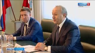 Финансовые вопросы обсудили в кабинете губернатора