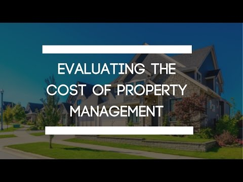 Evaluating the Cost of Property Management in Indianapolis, IN