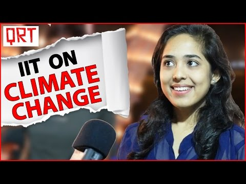 Thumbnail: IIT on Climate Change | Quick Reaction Team with India's Top Engineers | IIT Kanpur Techkriti 2016
