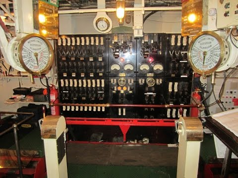 MV Balmoral Engine Room Tour.19th June 2015.