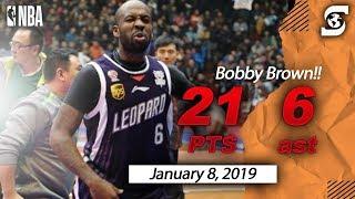 Bobby Brown Shanxi China (CBA ) Highlights 2018-2019