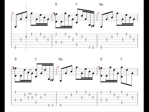 ♫ Metallica - Nothing Else Matters ♫ Easy Guitar Lesson ...