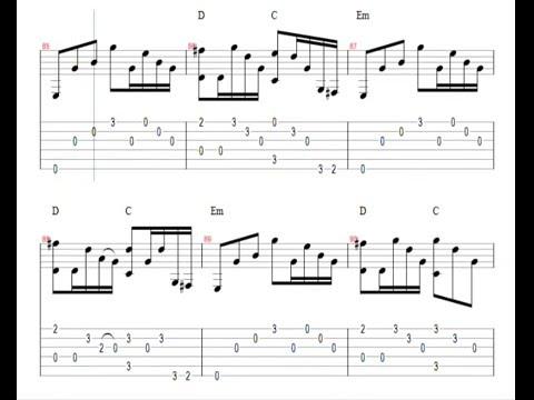 ♫ Metallica - Nothing Else Matters ♫ Easy Guitar Lesson