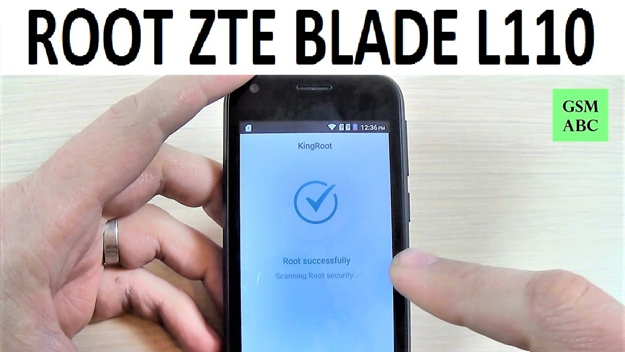 ROOT ZTE Blade L110 | How to | Hack | Kingroot