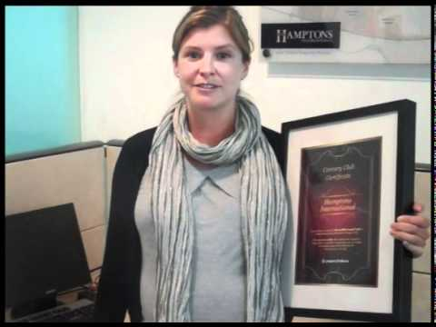 Hamptons, Dubai received Propertyfinder.ae's Century Club Certificate  - August 2010