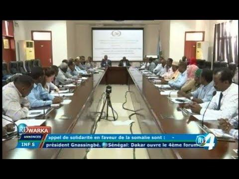 Télé Djibouti Chaine Youtube : JT Anglais du 15/11/2017