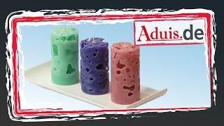 Coole Eiswürfel Kerzen