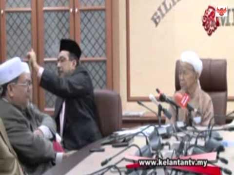 Husam Dimarahi Nik Aziz Kerana Tindakan Biadap Pada Sidang Media