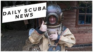 Daily Scuba News - Seabed To Ben Nevis… In A Vintage Diving Suit