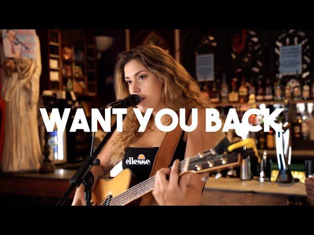HAIM - Want You Back (Natalie Shay Acoustic Cover)