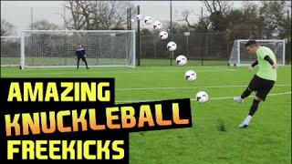 Amazing Knuckleball Freekicks | F2Freestylers