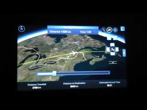 Flight overview on British Airways ORD Chicago to LHR London