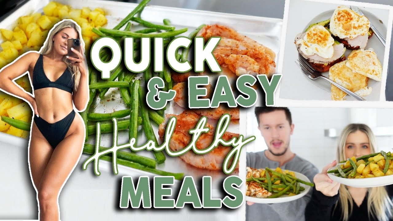 WHAT I EAT IN A DAY! Realistic & Healthy Meal Ideas