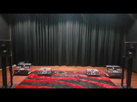 Indonesia High End Audio Tube OTL Atma-Sphere Nirvana, Quested H108 Passive Speakers, Merlot DAC
