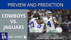 Cowboys vs. Jaguars: Preview, Prediction, Depth Chart, Injury Report, Keys To Game & Top Matchup