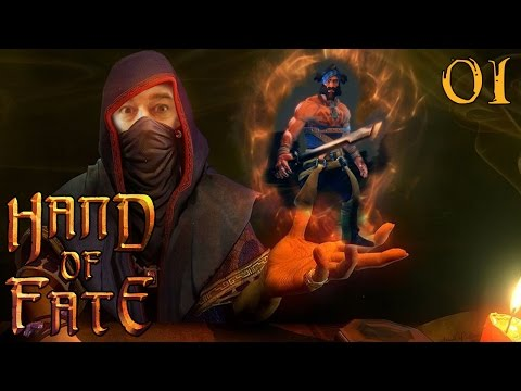 "Hand of Fate Gameplay Ep 01 - ""More Than Just A Card Game!!!"" 1080p PC PS4 Xbox One"
