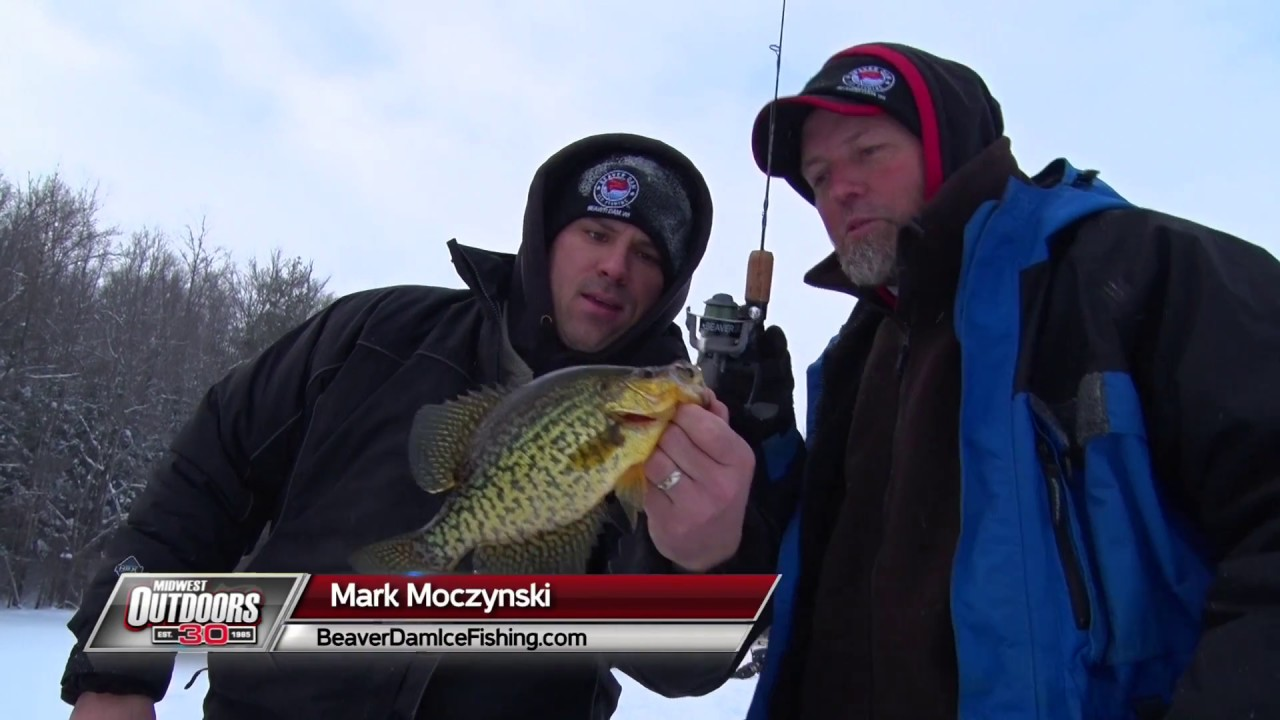 Midwest outdoors tv show 1603 ice fishing beaver dam for Fishing tv shows