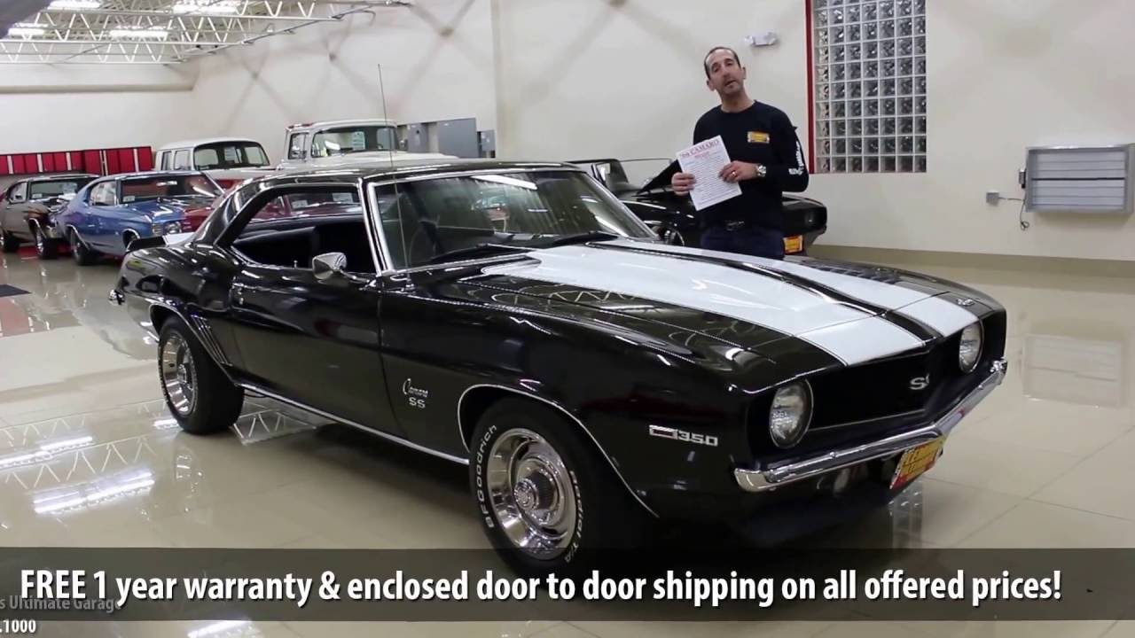39 69 camaro ss for sale with test drive driving sounds and walk through video youtube. Black Bedroom Furniture Sets. Home Design Ideas