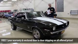 '69 Camaro SS for sale with test drive, driving sounds, and walk through video