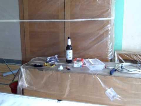 Schlafzimmer renovieren teil 1 - YouTube