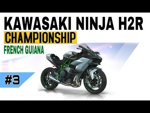 Asphalt 8 - Kawasaki Ninja H2R - Championship - French Guiana #3