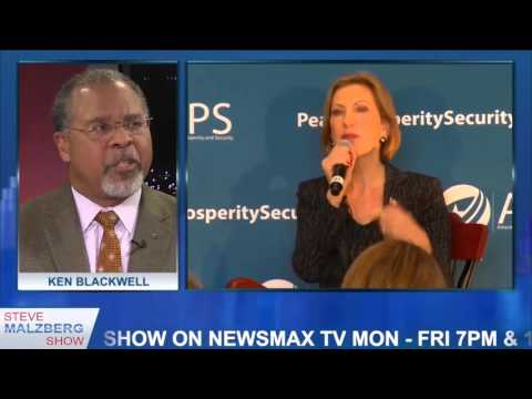 Ken Blackwell on Hillary Clinton emails, Carly Fiorina & Gun Control